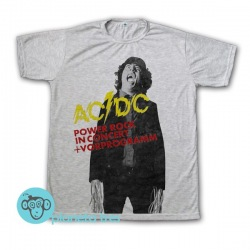 Remera AC/DC Powerage - Remeras Rock
