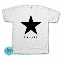 Remera David Bowie Blackstar - Remeras de Rock
