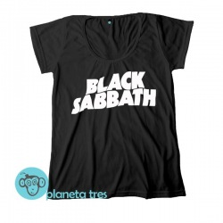 Remera Black Sabbath Logo - Remeras Rock Clásico