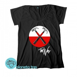 Remera Pink Floyd The Wall Martillos