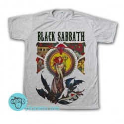 Remera Black Sabbath Poster - Remeras de Rock