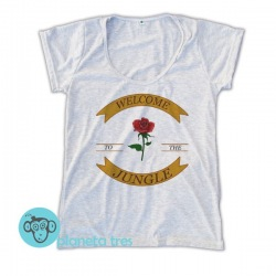 Remera Guns N' Roses Welcome to the Jungle