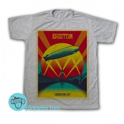 Remera Led Zeppelin Celebration Day