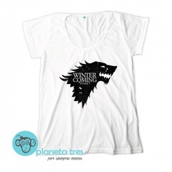 Remera Game of Thrones Winter is Coming Stark