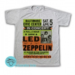 Remera Led Zeppelin Baltimore - Remeras Rock