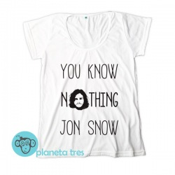 Remera You Know Nothing Jon Snow