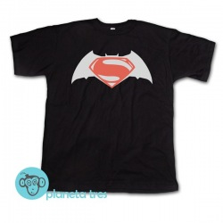 Remera Batman vs Superman Liga de la Justicia - Remeras de Superhéroes