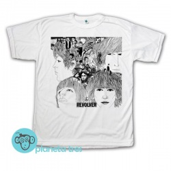 Remera The Beatles Revolver - Remeras Rock Clásico