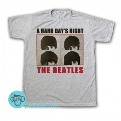 Remera The Beatles A Hard Day's Night - Remeras Rock Clásico