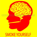 Remera Smoke Yourself