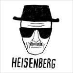 Remera Breaking Bad Heisenberg Dibujo