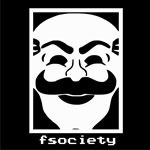 Remera Mr. Robot Máscara Fsociety