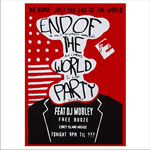Remera Mr. Robot End Of The World Party