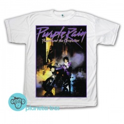 Remera Purple Rain  Prince - Remeras Funk