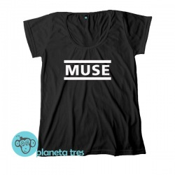 Remera Muse Logo - Remeras de Rock - Remeras Muse