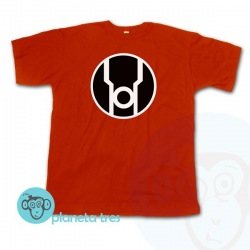 Remera Linternas Rojas Logo - Red Lanterns Corps