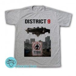 Remera District 9 Poster