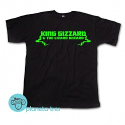 Remera King Gizzard & The Lizard Wizard Universe - Remeras de Rock