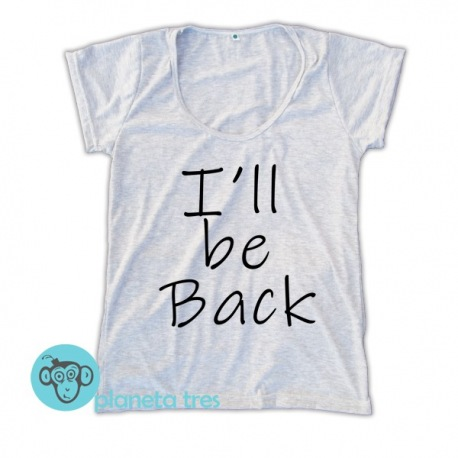 Remera Terminator I'll Be Back - Remeras De Películas