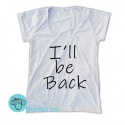 Remera Terminator I'll Be Back