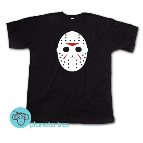 Remera Jason Voorhees Máscara de Hockey - Remeras de Películas de Terror