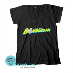 Remera Bomberman - Remeras Gamers, Videojuegos y GeeksRemera Taito Game Station