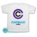 Remera Capsule Corp. Dragon Ball