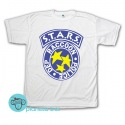 Remera S.T.A.R.S Resident Evil Blanca