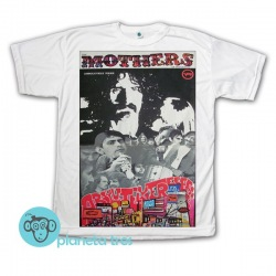 Remera Frank Zappa The Mothers Of Invention Absolutely Free - Remeras de Rock Clásico