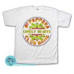 Remera The Beatles Sgt. Pepper's Lonely Hearts Club Band - Remeras de Rock Clásico