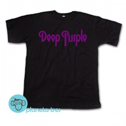 Remera Deep Purple Logo