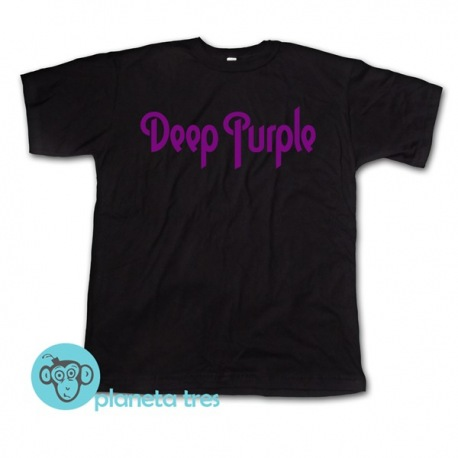 Remera Deep Purple Logo - Remeras de Rock y Metal