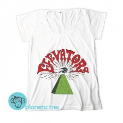 Remera 13th Floor Elevators The Psychedelic Sounds - Remeras Rock - Remeras Rock Psicodélico Mujeres