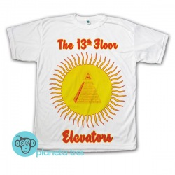 Remera 13th Floor Elevators Easter Everywhere - Remeras Rock - Remeras Rock Psicodélico