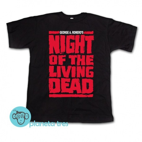 Remera Night Of The Living Dead George Romero - Remeras Películas De Zombies