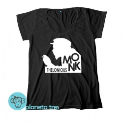 Remera Thelonious Monk- Remeras de Jazz