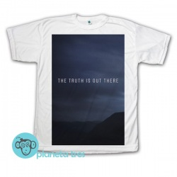 Remera The X Files The Truth Is Out There - Remeras de series de TV