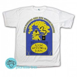 Remera King Gizzard & The Lizard Wizard Flying Microtonal Banana Color - Rock - Argentina - Remeras Rock Hombres y Niños
