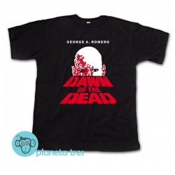 Remera Dawn Of The Dead George A. Romero - Remeras de películas de zombies unisex, hombres y niños