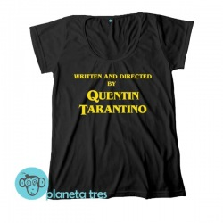 Remera Written and Directed by Quentin Tarantino