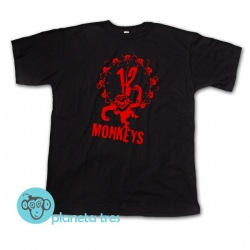 Remera 12 Monos - Twelve Monkeys