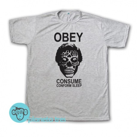 Remera They Live Obey Consume