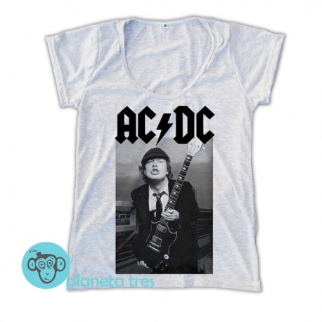 Remera AC/DC Angus Young - Remeras Rock