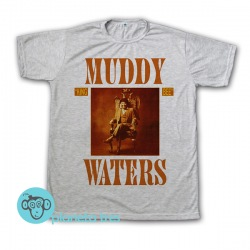 Remera Muddy Waters King Bee - Remeras de Blues - Talles para mujeres, hombres y niños. Unisex.