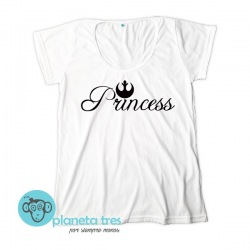 Remera Princess Leia Star Wars