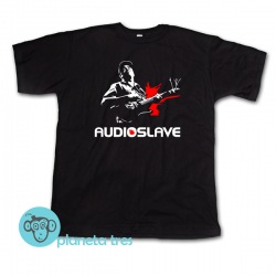 Remera Audioslave Tom Morello - Remeras de Rock Alternativo. En talles y modelos para mujeres y hombres.