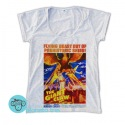 Remera The Giant Claw Póster Retro