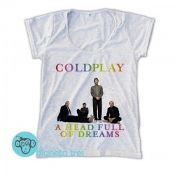 Remera Coldplay