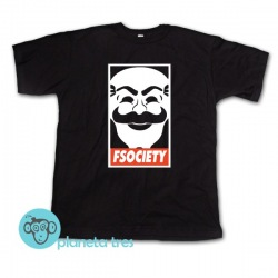 Remera Fsociety Mr Robot
