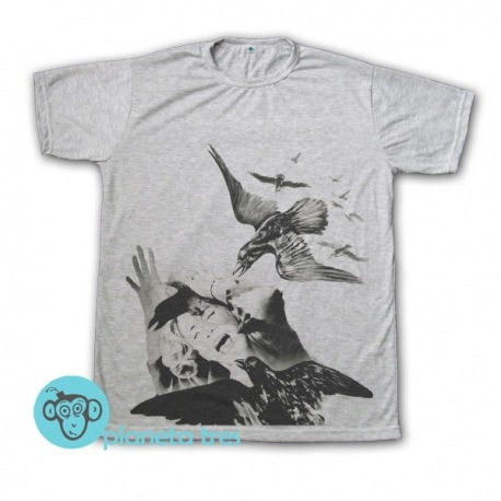 Remera The Birds Alfred Hitchcock